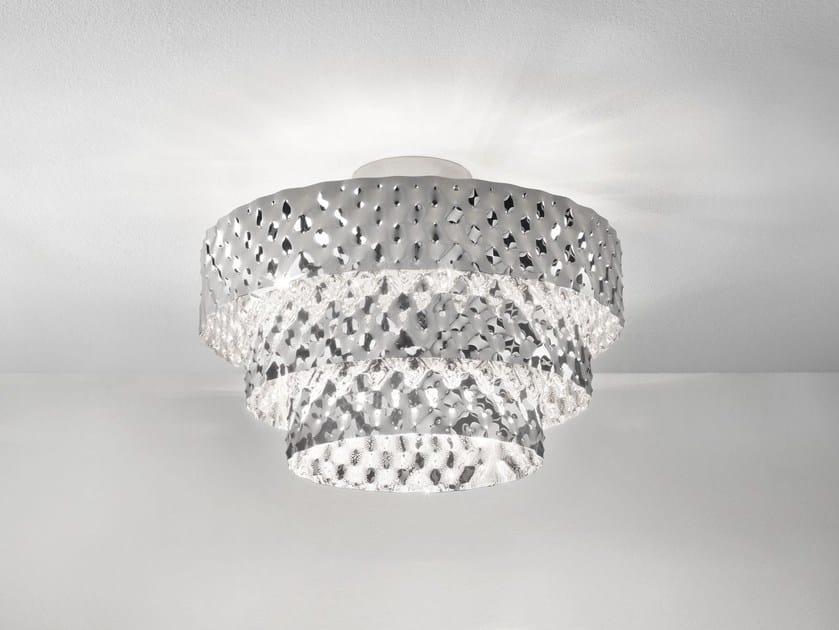 Direct-indirect light metal ceiling light CAPITONNÈ | Ceiling light - IDL EXPORT