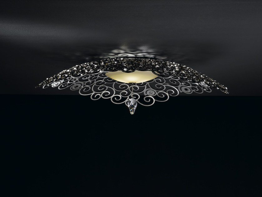 Metal ceiling light with Swarovski® crystals CRYSTAL MARINE | Ceiling light - IDL EXPORT