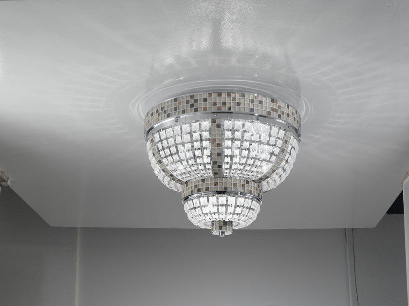 Crystal ceiling light VICTORIA | Ceiling light by IDL EXPORT