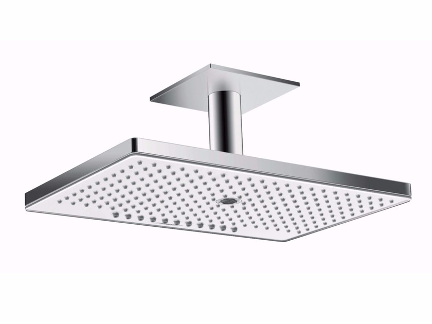 Ceiling mounted rain shower with arm RAINMAKER SELECT | Ceiling mounted overhead shower by hansgrohe