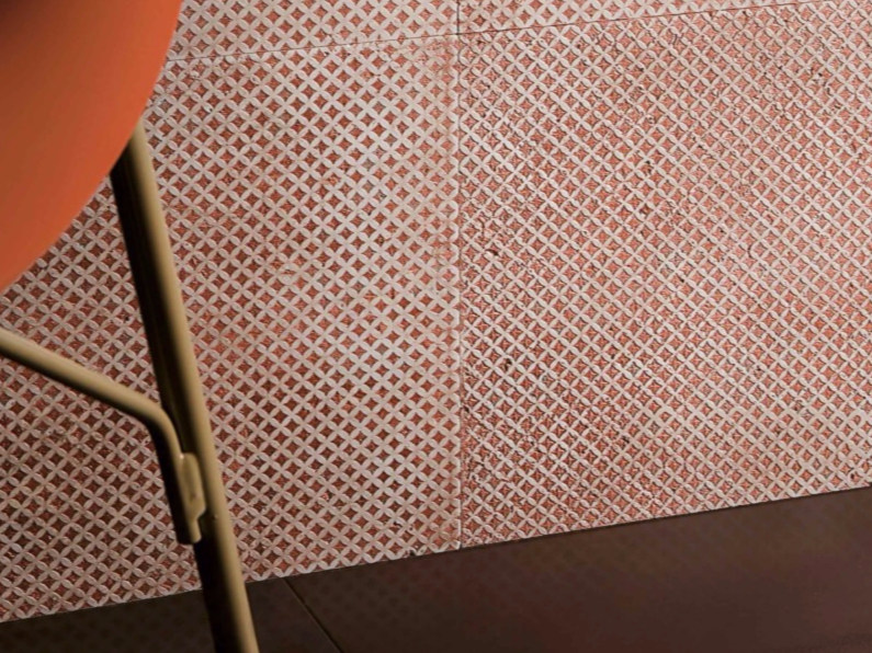 Marble wall tiles CELEBRATION BP - COPPER by Lithos Mosaico Italia