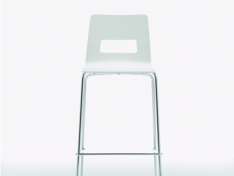 Counter stool with footrest CELSIUS | Chair - Quadrifoglio Sistemi d'Arredo