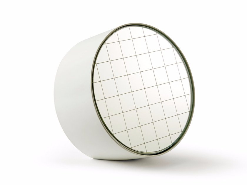 Countertop round mirror CENTIMETRI   Countertop mirror by Atipico