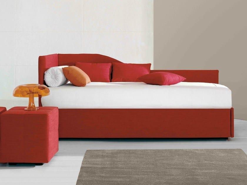 Upholstered storage bed CENTOUNO - Bonaldo