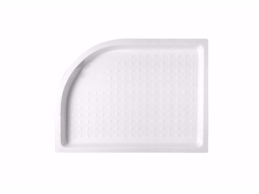 Anti-slip ceramic shower tray Ceramic shower tray by Hidra Ceramica
