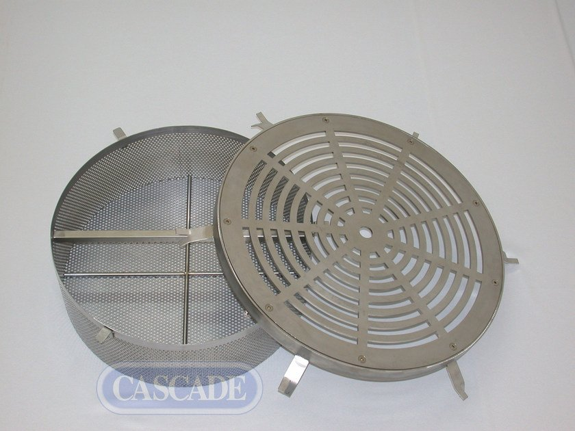 Stainless steel fountains filter Filter with plate - CASCADE