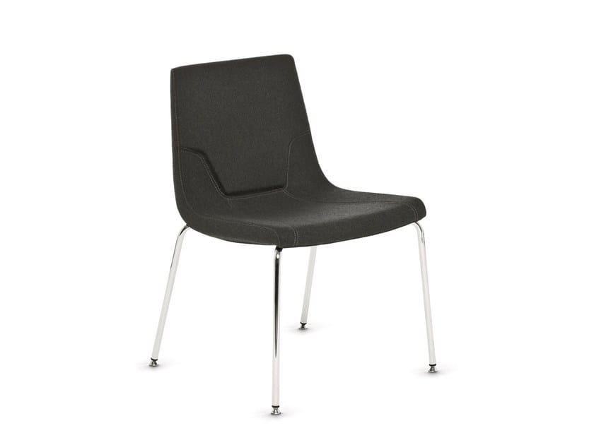 Fabric chair ELLE 48 | Chair - Emmegi