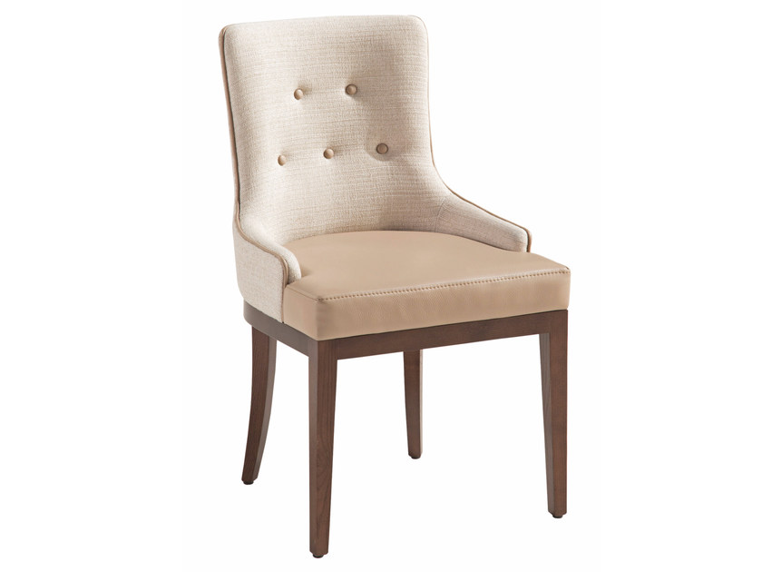 Tufted fabric chair TROCADERO | Chair by ROCHE BOBOIS