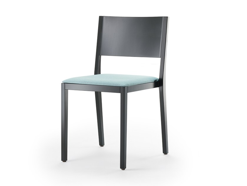 Upholstered stackable chair BONNIE & CLYDE | Chair by rosconi
