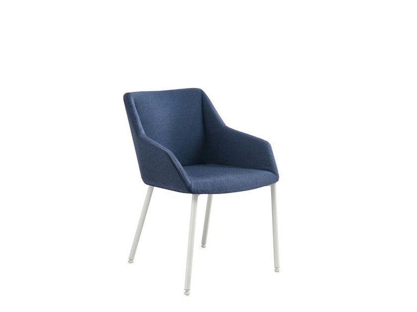Fabric reception chair DAMA PLAIN | Chair - Sesta