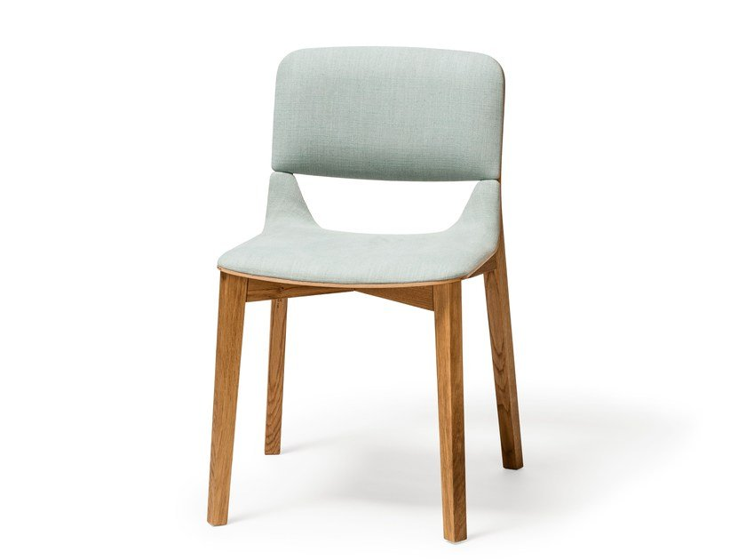 Upholstered wooden chair LEAF | Upholstered chair - TON