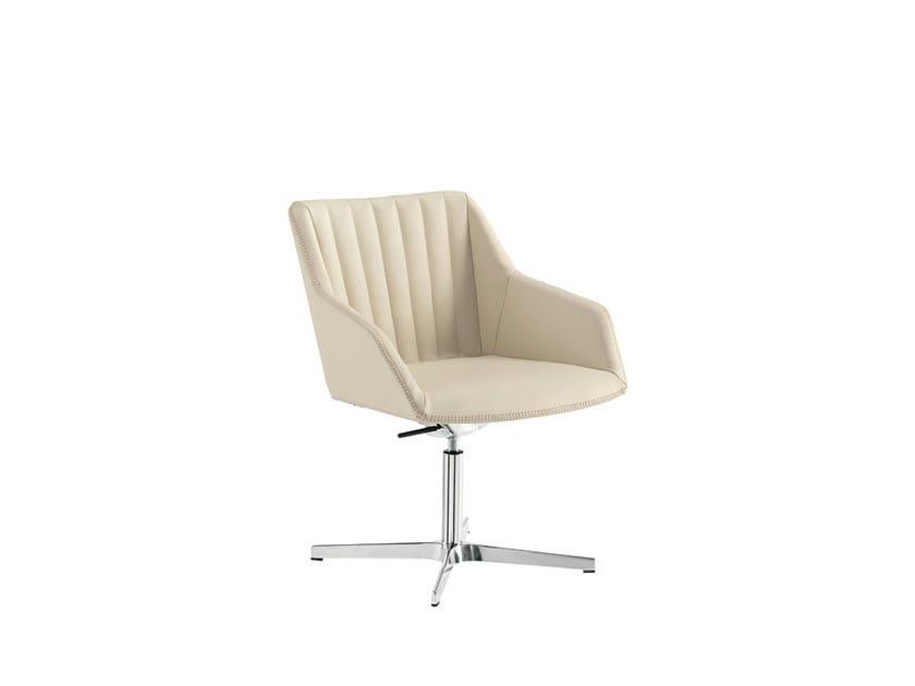 Height-adjustable reception chair DAMA STRIP | Height-adjustable chair - Sesta