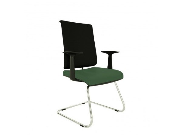 Cantilever chair with armrests ZERO7 EVO | Chair with armrests - Ares Line