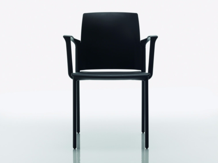 Polypropylene chair with armrests COLLEGE | Chair with armrests - Quadrifoglio Sistemi d'Arredo