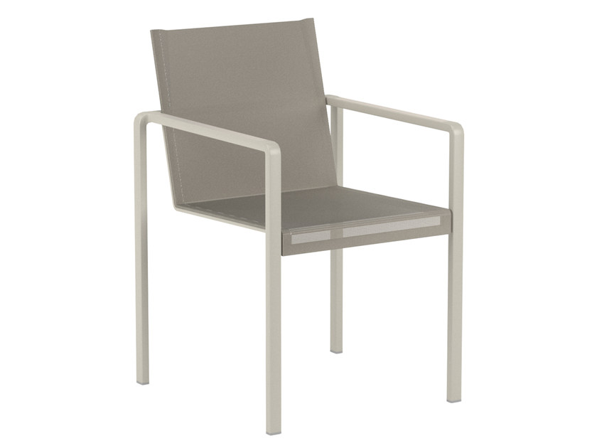 Batyline® garden chair with armrests ALURA | Chair with armrests - ROYAL BOTANIA