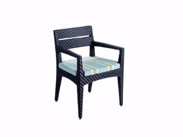 Restaurant chair with armrests PANAMERA | Chair with armrests - 7OCEANS DESIGNS