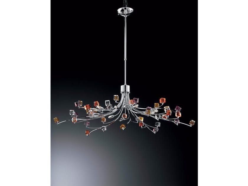 Crystal chandelier DADO   Chandelier - IDL EXPORT