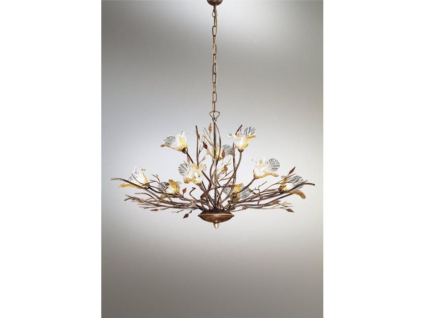 Indirect light chandelier ORCHIDEA | Chandelier by IDL EXPORT