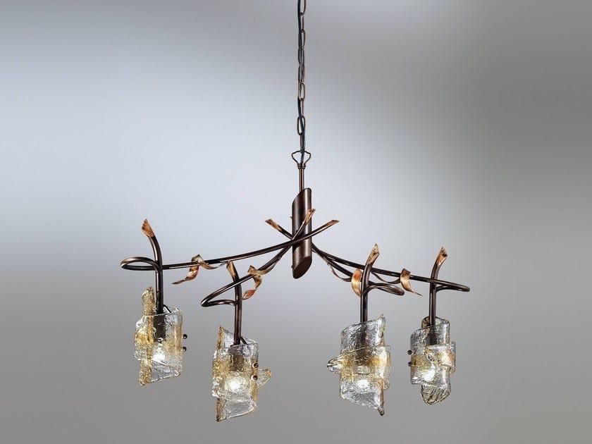 Direct light chandelier PAPIRO | Chandelier by IDL EXPORT