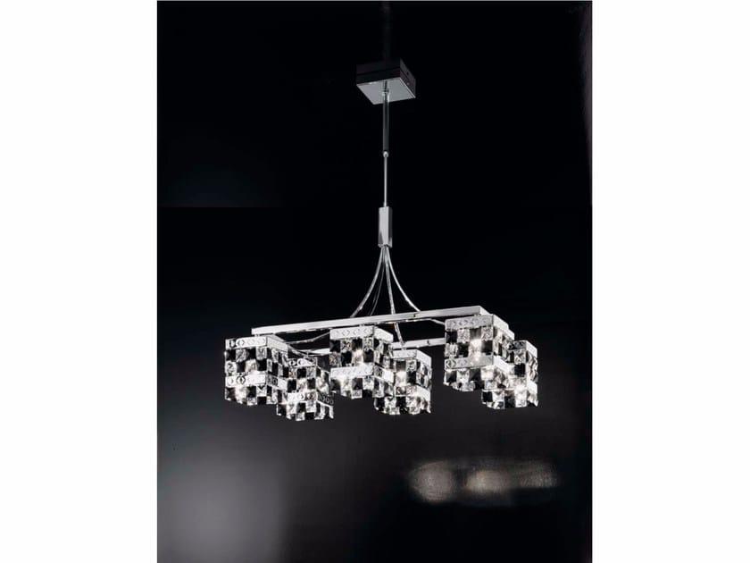 Crystal chandelier PRINCE | Chandelier - IDL EXPORT
