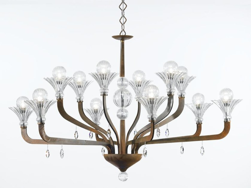 Chandelier with Swarovski® Crystals SUPREME | Chandelier - IDL EXPORT