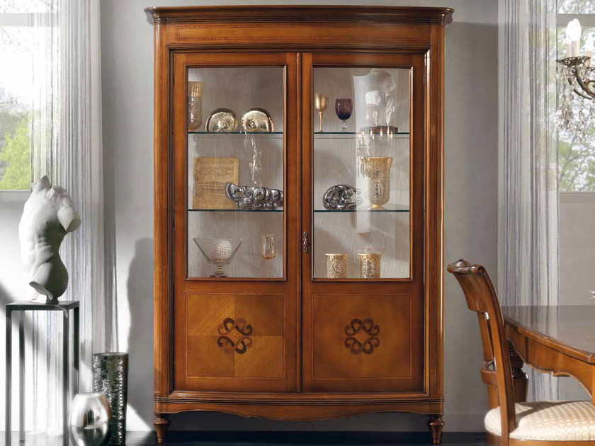 Solid wood display cabinet CHANEL | Display cabinet by Arvestyle
