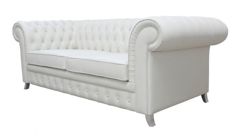Tufted leather sofa CHAPLIN | Tufted sofa - Ottiu