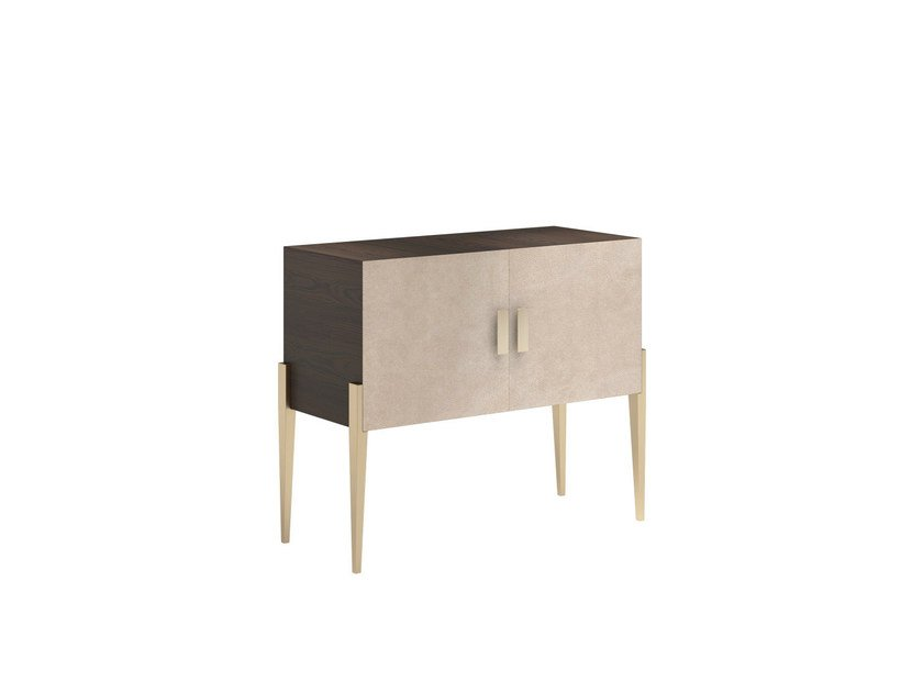 Solid wood sideboard with doors CHARME L - Capital Collection by Atmosphera