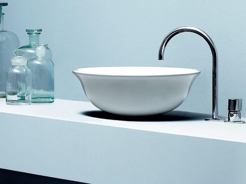 Countertop round washbasin CHARME | Countertop washbasin by AZZURRA sanitari