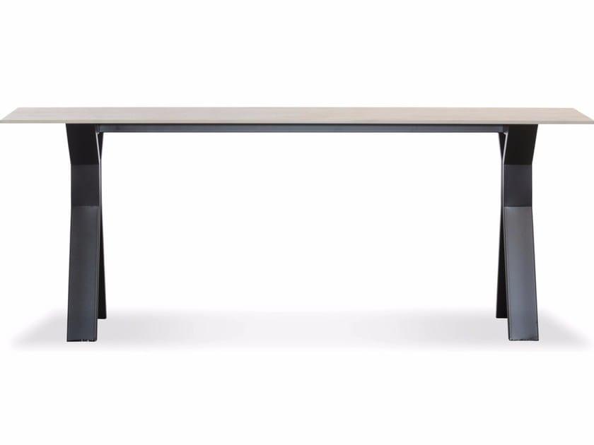 Rectangular Xeramica console table CHATEAU | Console table - Joli