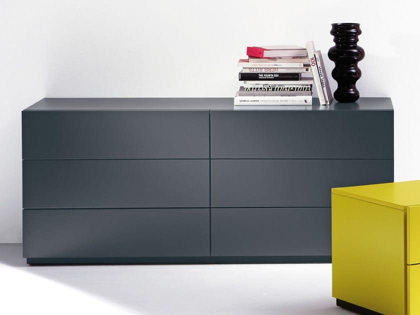 Lacquered wooden dresser HARU | Dresser - EmmeBi