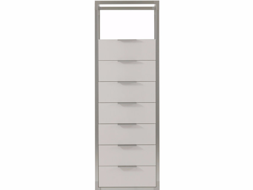 Free standing lacquered chest of drawers DEDICATO | Chest of drawers - ROSET ITALIA