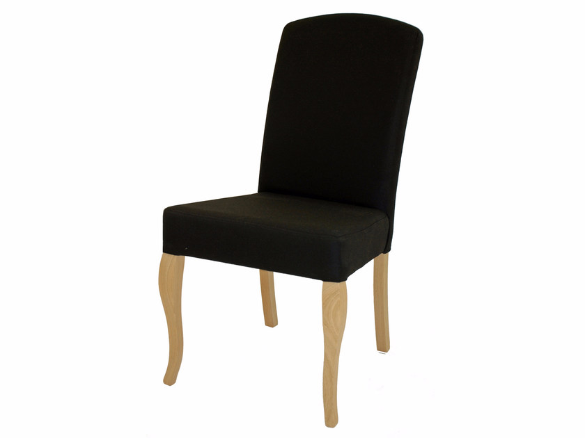 Upholstered fabric chair CHESTER - Z-Editions