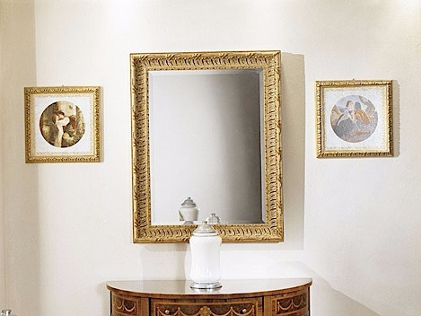Wall-mounted framed mirror CHIARA | Mirror - Arvestyle