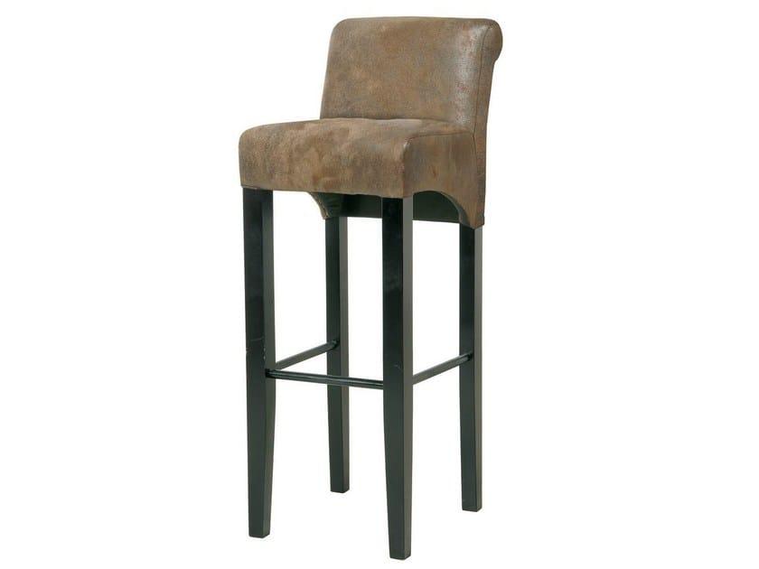 Upholstered fabric counter stool CHIARA VINTAGE - KARE-DESIGN