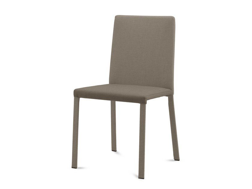 Upholstered fabric restaurant chair CHLOE-A | Chair by DOMITALIA