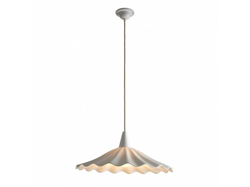 Porcelain pendant lamp CHRISTIE - Original BTC
