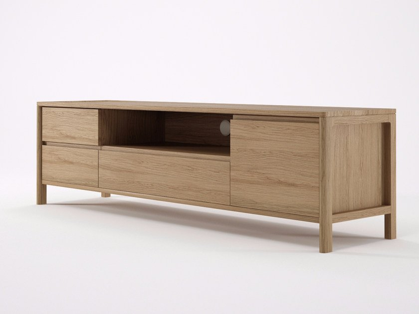 Wooden sideboard with flap doors CIRCA17 | Sideboard with flap doors by KARPENTER