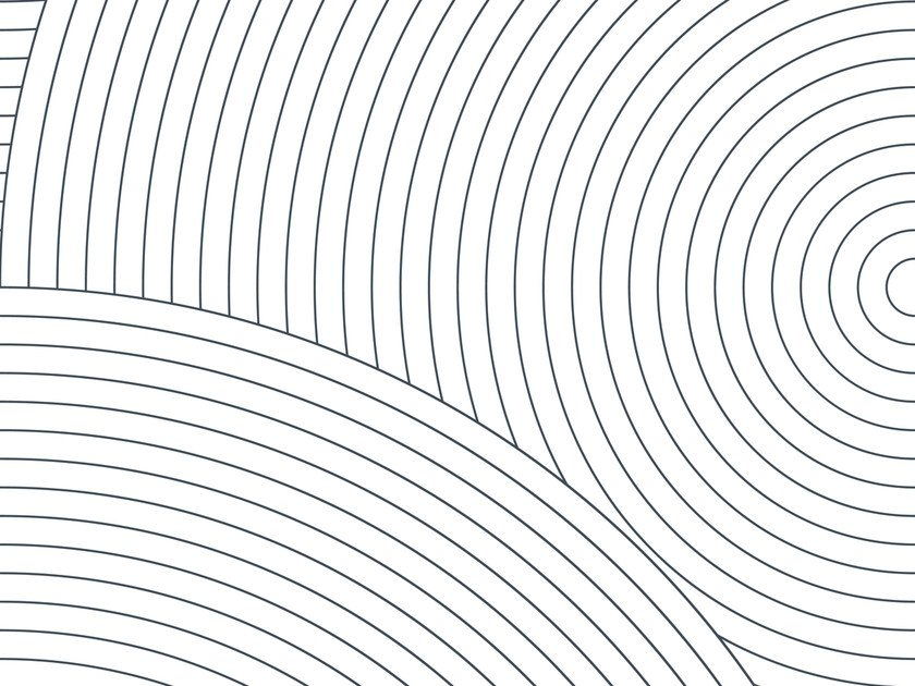 Geometric non-woven paper wallpaper CIRCLES #01 by EXTRATAPETE