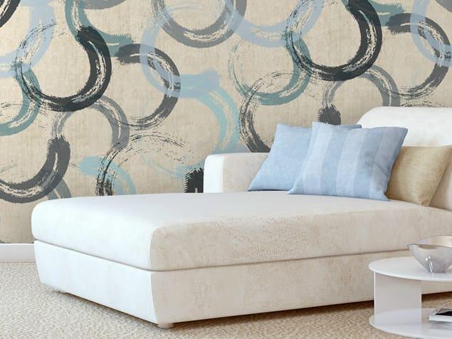 Motif non-woven paper wallpaper CIRCLUM by LGD01