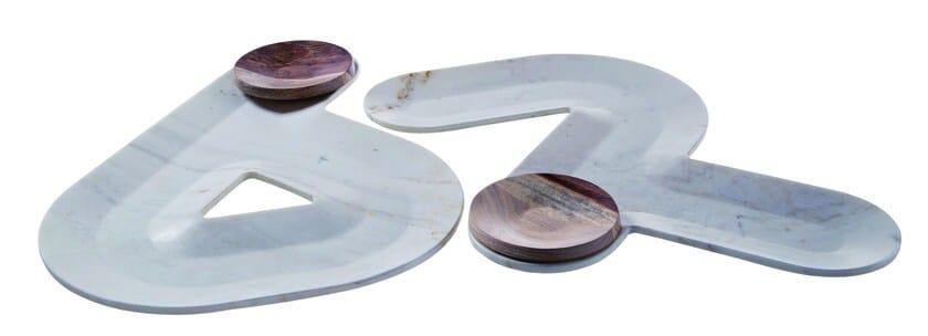 Marble centerpiece CIRCUIT F1 - ROCHE BOBOIS