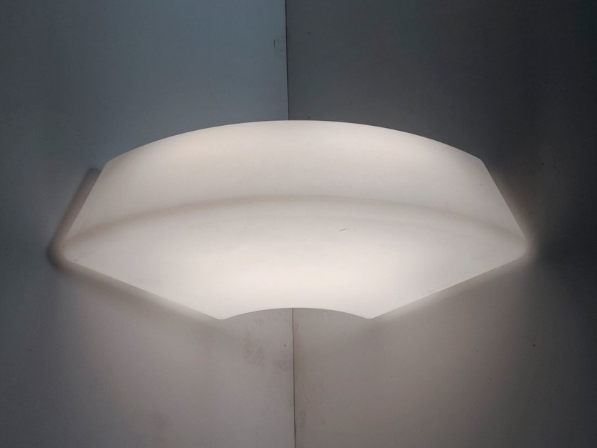 LED wall lamp CIRCULAR POL XXL | Wall lamp - Martinelli Luce