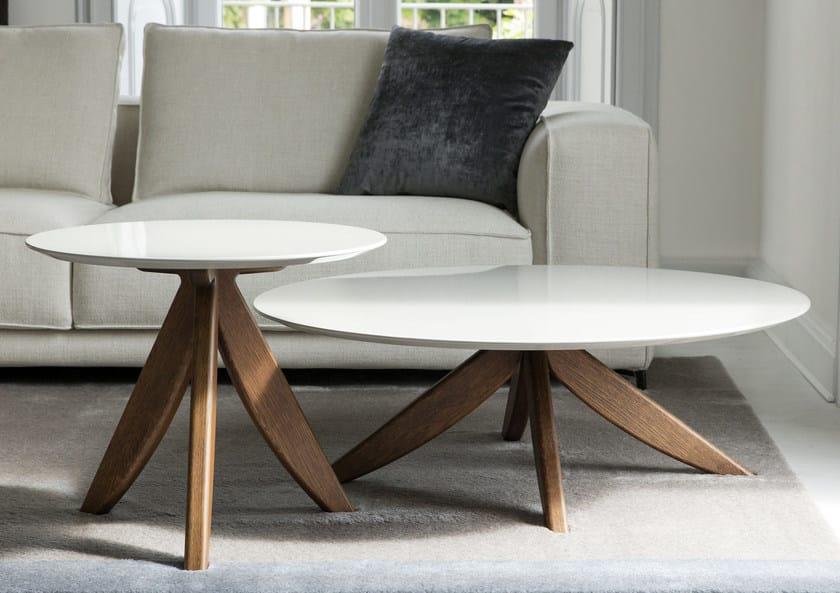 Tavolino rotondo in MDF da salotto CIRCUS | Tavolino da salotto ...