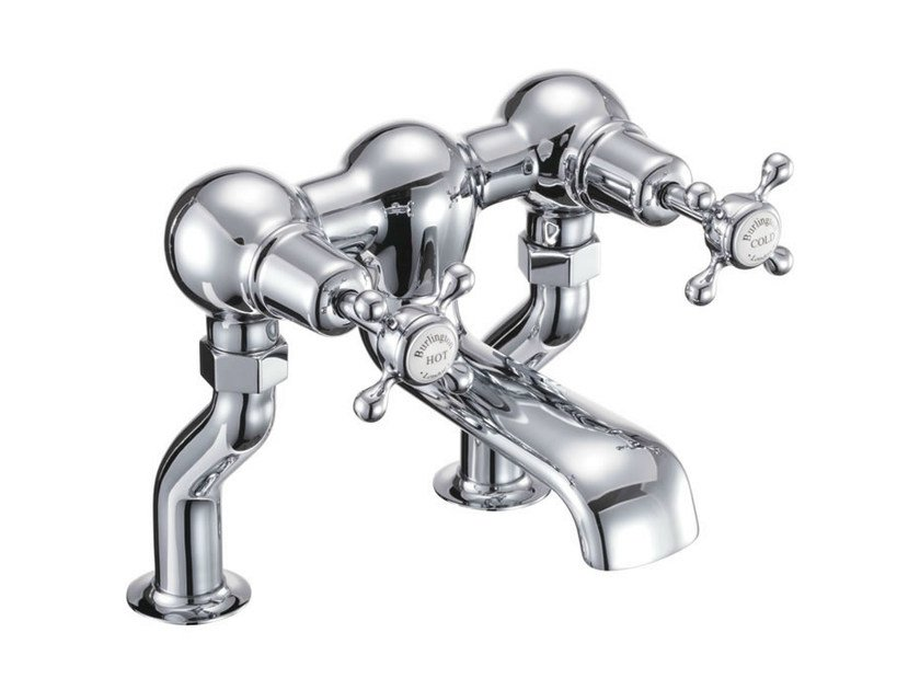 2 hole chrome-plated bathtub tap with aerator CLAREMONT | Bathtub tap - Polo
