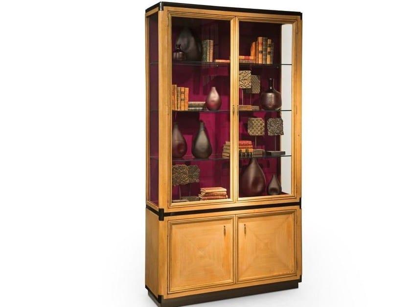 Wooden display cabinet CLARIDGE - ROCHE BOBOIS