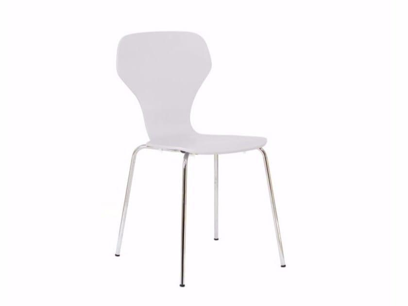 Stackable wood veneer chair CLASSIC | Stackable chair - Danerka
