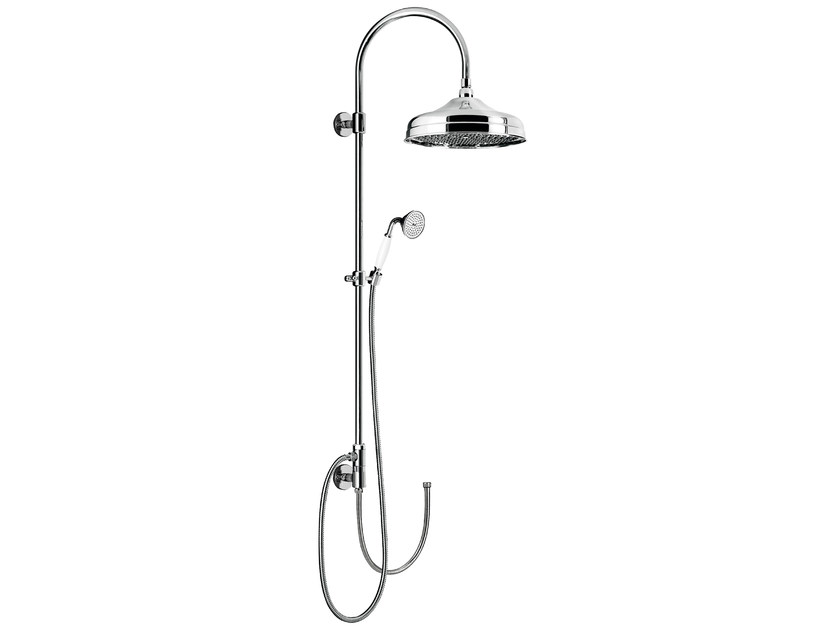 Wall-mounted shower panel with hand shower CLASSIC SHOWERS - 1455273 - Fir Italia