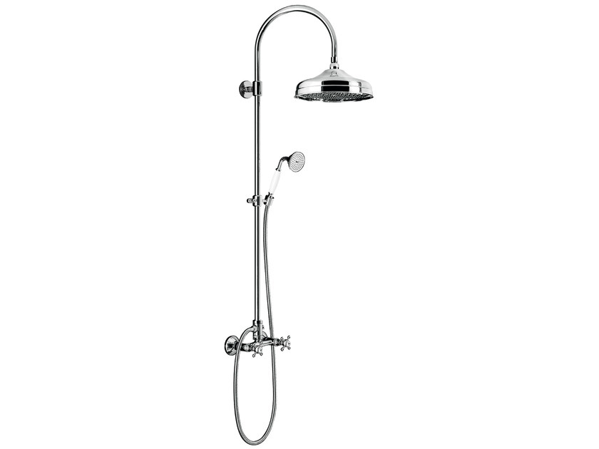 Wall-mounted shower panel with overhead shower CLASSIC SHOWERS - 2062271 - Fir Italia