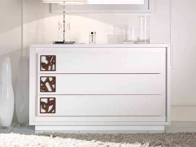 Lacquered solid wood dresser PRIMA CLASSE | Dresser - Arvestyle