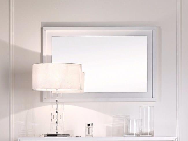 Rectangular framed mirror PRIMA CLASSE | Mirror - Arvestyle